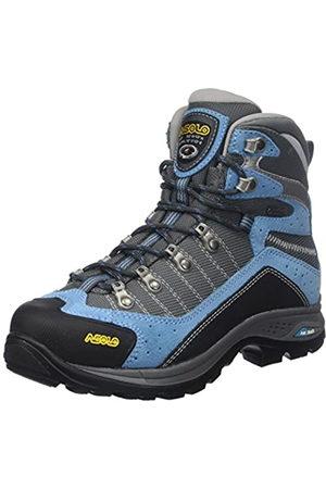 Asolo Women's Drifter Gv Evo Ml High Rise Hiking Shoes, (Azure/Stone A173)