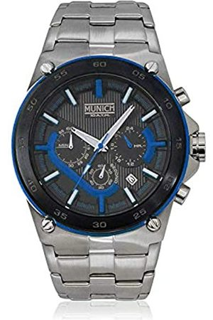 Munich Unisex Adult Analogue Quartz Watch with Stainless Steel Strap MU+138.1C