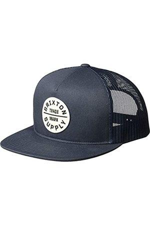 BRIXTON Men's Messer Medium Brim Felt Fedora Hat Baseball Cap