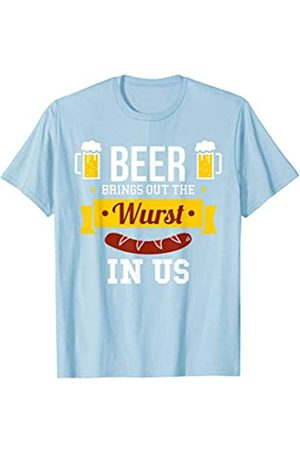BUBL TEES Beer Brings Out The Wurst In Us Oktoberfest T-Shirt