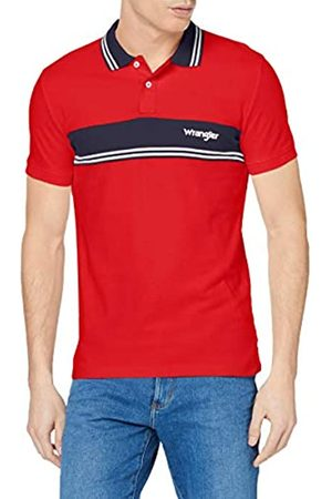 Wrangler Men's Ss Colourblock Polo Shirt