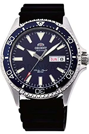 Orient Mens Analogue Automatic Watch with Rubber Strap RA-AA0006L19B