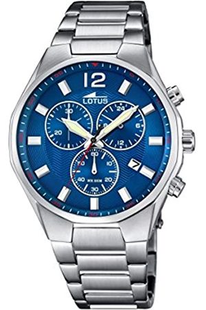 Lotus Men's Quartz Watch with Dial Chronograph Display and Stainless Steel Bracelet 10125/3