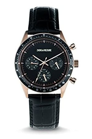 Zadig & Voltaire Unisex Watch Analogue Display and Leather Strap ZVM115