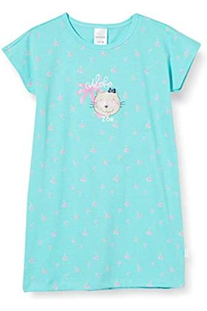 Schiesser Girls' Cat Zoe Nachthemd 1/2 Nightie