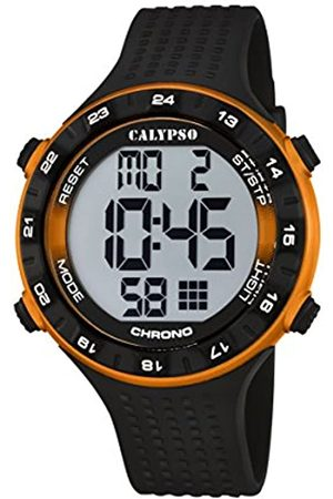 Calypso Unisex Digital Watch with LCD Dial Digital Display and Plastic Strap K5663/3