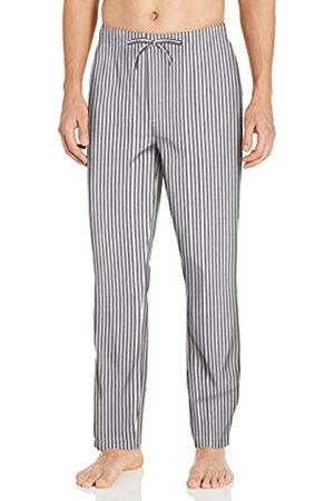 Goodthreads Stretch Poplin Pajama Pant Casual, Burgundy Navy Double Stripe