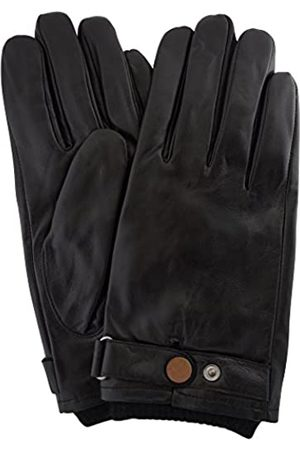 Snugrugs Mens Premium Soft Leather Glove with Elasticated Wrist