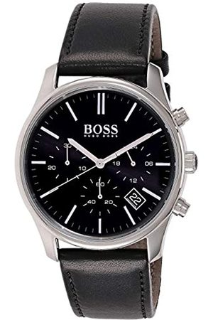 Hugo Boss Men's Chronograph Quartz Watch with Leather Strap – 1513430