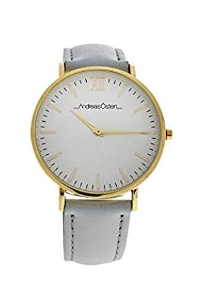 Andreas Osten Unisex-Adult Analogue Classic Quartz Watch with Leather Strap AO-163