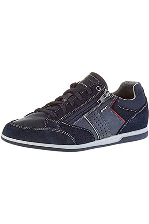 Geox Men's U Renan A Low-Top Sneakers, (Navy C4002)