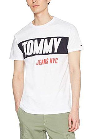 Tommy Jeans Men's Heavy Logo Short Sleeve T-Shirt