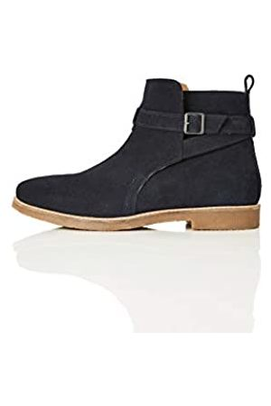 find. Amazon Brand - Men's Classic Boots, (Navy)