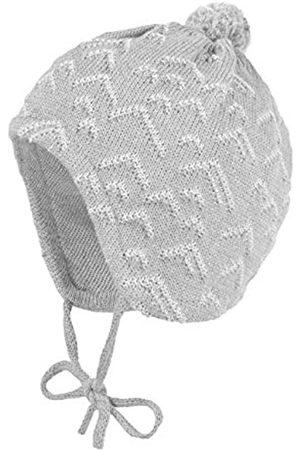 maximo Baby Boys' Mit Zick-Zack Struktur Pompon Und Bindeband Hat