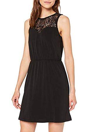 Vero Moda Women's Vmmilla Sh Lace S/l Short Dress Noos Vest