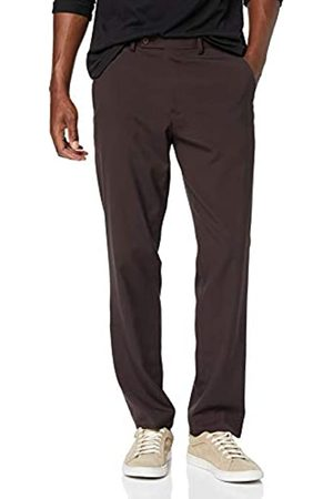 find. Amazon Brand - Regular Fit Pleated Formal Trouser, ( Reg 1 PLT)