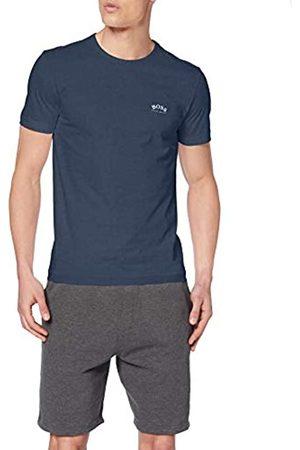 HUGO BOSS Men's Tee Curved T-Shirt T-Shirt