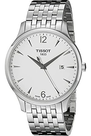 Tissot Men's Analogue Quartz Watch with Stainless Steel Plated Strap T063.610.11.037.00