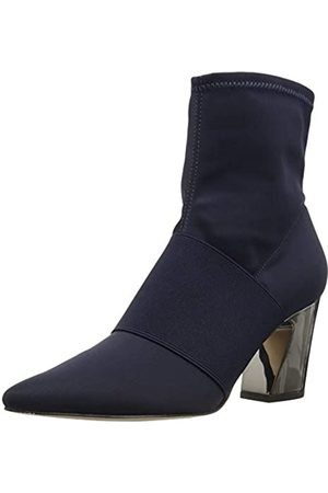 Nine West Women's nwDELAYNA2 Ankle Boots, Navy