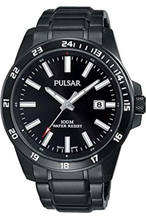 Pulsar Unisex Analogue Quartz Watch with Stainless Steel Plated Strap PS9461X1