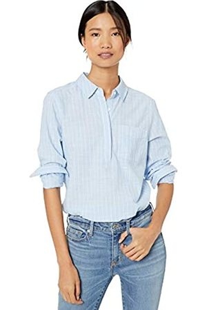Goodthreads Washed Cotton Popover Tunic Shirt