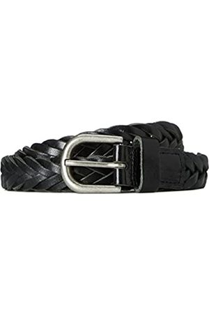 find. Men's Belt In Leather Plait Weave
