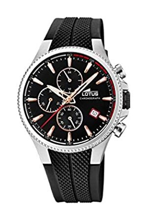 Lotus Mens Chronograph Quartz Watch with Rubber Strap 18621/3