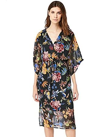 TRUTH & FABLE Amazon Brand - Womens Dress With Kimono Sleeve, 10