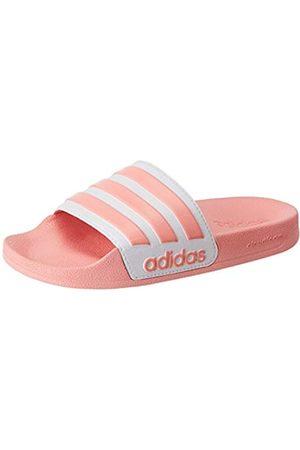 adidas Women's Adilette Shower Sandal, Glory /Footwear /Glory