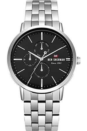 Ben Sherman Mens Analogue Classic Quartz Watch with Stainless Steel Strap WBS104BSM