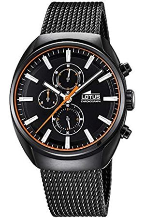 Lotus Mens Chronograph Quartz Watch with Stainless Steel Strap 18567/D