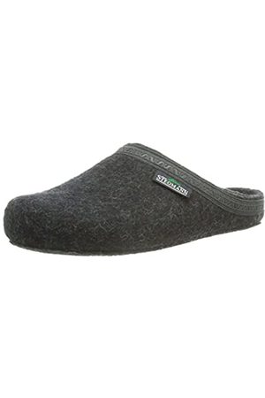 Stegmann 127 17827, Unisex-Adult Slippers, (8801 Graphit)