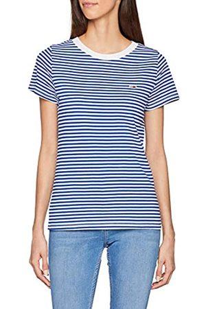 Tommy Jeans Women's Tommy Classics Stripe Tee Short Sleeve T-Shirt Sports Knitwear
