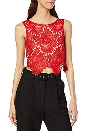 Miss Selfridge Women's Lace Crop Top Tank