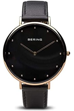 Bering Women's Analogue Quartz Watch with Leather Strap 14839-462