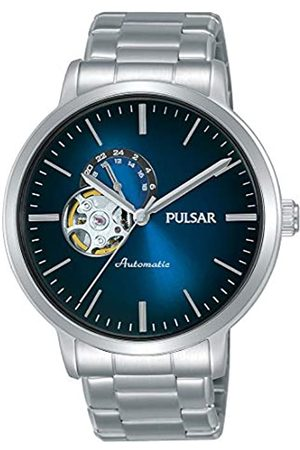 Pulsar Mens Analogue Automatic Watch with Stainless Steel Strap P9A001X1