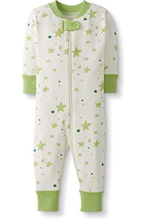 Moon and Back by Hanna Andersson Moon and Back One Piece Footless Pajamas Sleepers, Lime