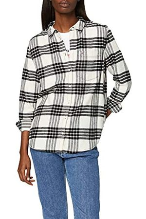 Tommy Hilfiger Women's Tjw Regular Check Shirt Blouse