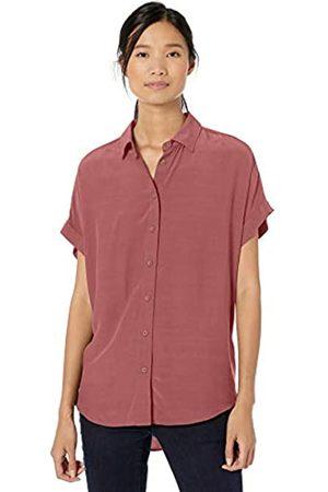 Goodthreads Viscose Short-sleeve Shirt Roan Rouge