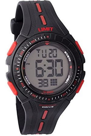 Limit Boys Round Plastic Digital Watch 5391.56 With Bezel And /White Markers