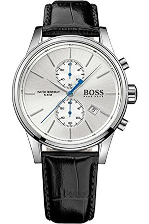 HUGO BOSS Men's Chronograph Quartz Watch with Leather Strap – 1513282