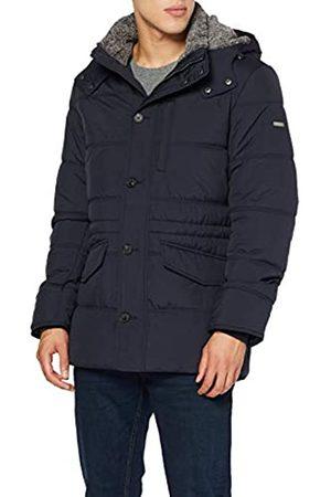 Hackett London Men's Polar Fleece Anorak Jacket