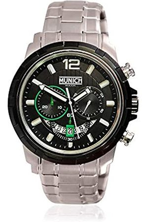 Munich Unisex Adult Analogue Quartz Watch with Stainless Steel Strap MU+105.1D