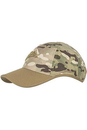 Helikon-Tex Men's Logo Cap Polycotton Ripstop Camogrom/Coyote A