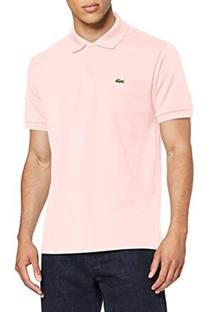Lacoste Men's L1212 Original Short Sleeve Polo Shirt,Flamingo