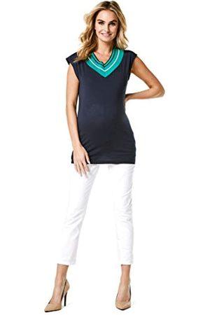Noppies Women's Jeans OTB 7/8 Slim Mila Maternity, (Blanc de Blanc P002)