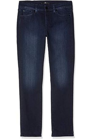 Seven for all Mankind Women's Mid Rise Roxanne Crop Jeans