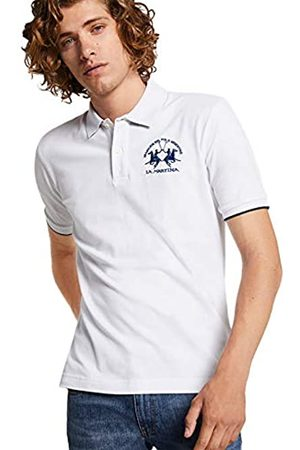 La Martina Men's Man Polo S/s Piquet Str Shirt