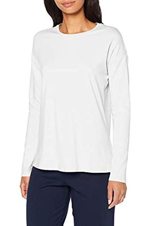 Skiny Women's Sleep & Dream Shirt Langarm Pyjama Top, Off- Off- (Ivory 7608)