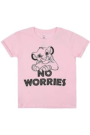 Disney Girl's Lion King No Worries T-Shirt